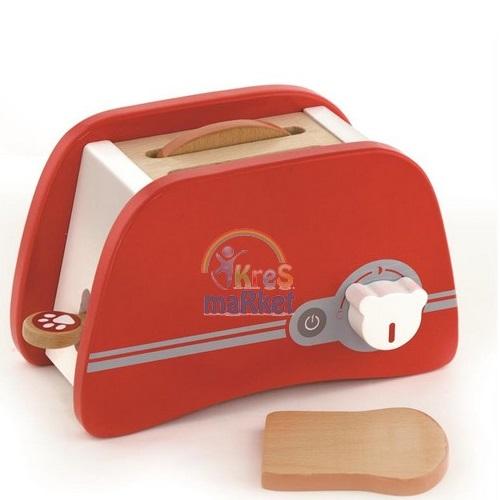 Vigatoys Ahşap Ekmek Kızartma Makinesi