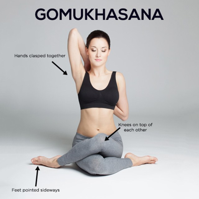 yoga for arm - Gomukhasana