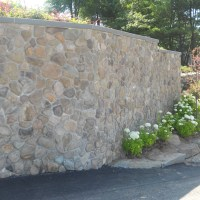 Fieldstone Veneer Wall