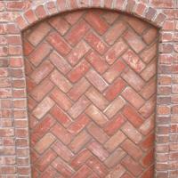 Exterior Brick Chimney Detail
