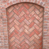 Exterior Brick Chimney Detail