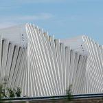 Detail der Stazione di Reggio Emilia AV Mediopadana