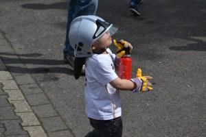 Wenn ich groß bin, werde ich ein Feuerwehrmann!