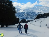 Walking on Crete in Winter