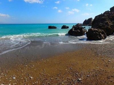 Stranden op Kreta Griekenland