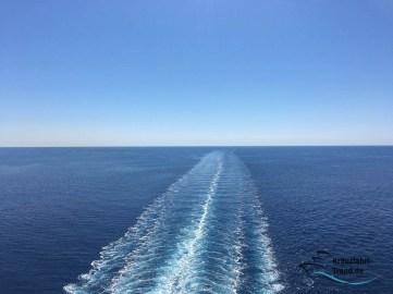 Tolle Aussichten auf dem Mittelmeer