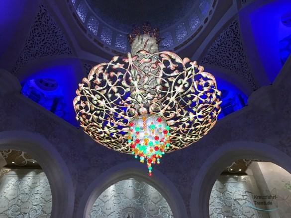 Ausflugstipp: Die Sheikh Zayed Moschee bei Nacht
