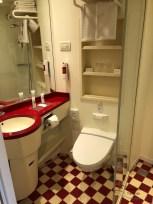 Das Bad in unserer Kabine