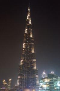 Der Burj Khalifa in voller Größe