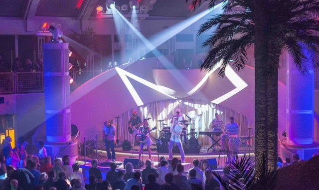 Die Band Correcto im Beach Club