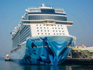 Die Norwegian Bliss in Southampton