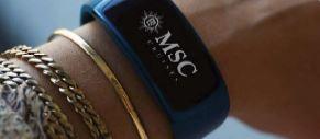 Das MSC for me-Armband. Grafik: MSC Kreuzfahrten