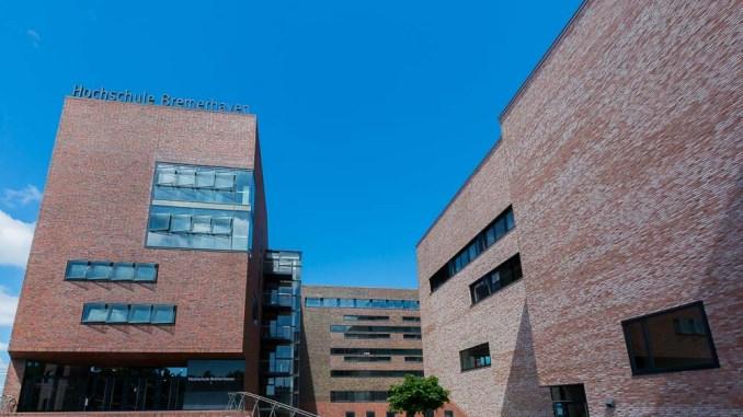 Die modernen Gebäude der Hochschule Bremerhaven