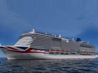 So soll die Iona aussehen. Grafik: P&O Cruises