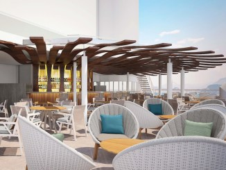 Die Sunset Bar. Grafik: Celebrity Cruises