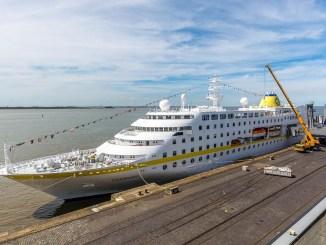 Kleine Schiffe wie die MS Hamburg kommen schon lange in die Seestadt
