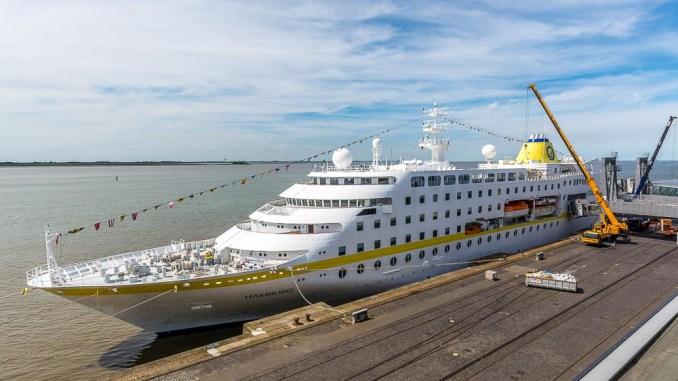 MS Hamburg in Bremerhaven