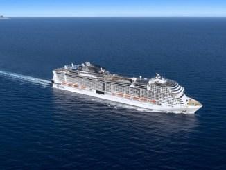 MSC Grandiosa. Grafik: MSC Cruises