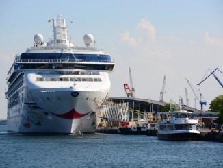 Viele internationale Schiffe besuchen die deutschen Kreuzfahrthäfen