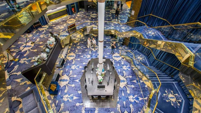 Atrium der Vasco da Gama
