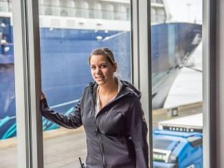 Laura Peters arbeitet als Terminalmanagerin