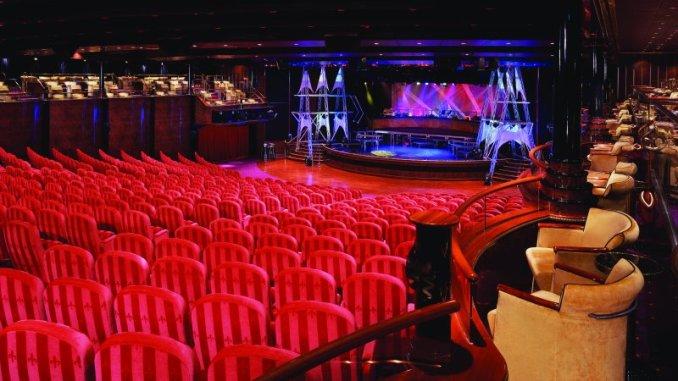 Das Stardust Theater. Foto: Norwegian Cruise Line