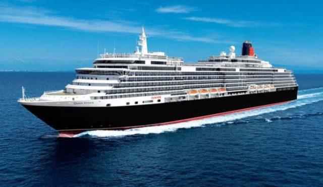Queen Victoria Cunard von Hamburg nach Southampton - mit Rückflug