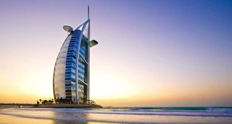Das Burj Al Arab in Dubai