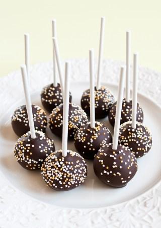 Chokladcake pops