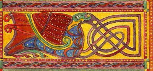 celtic bird kopia