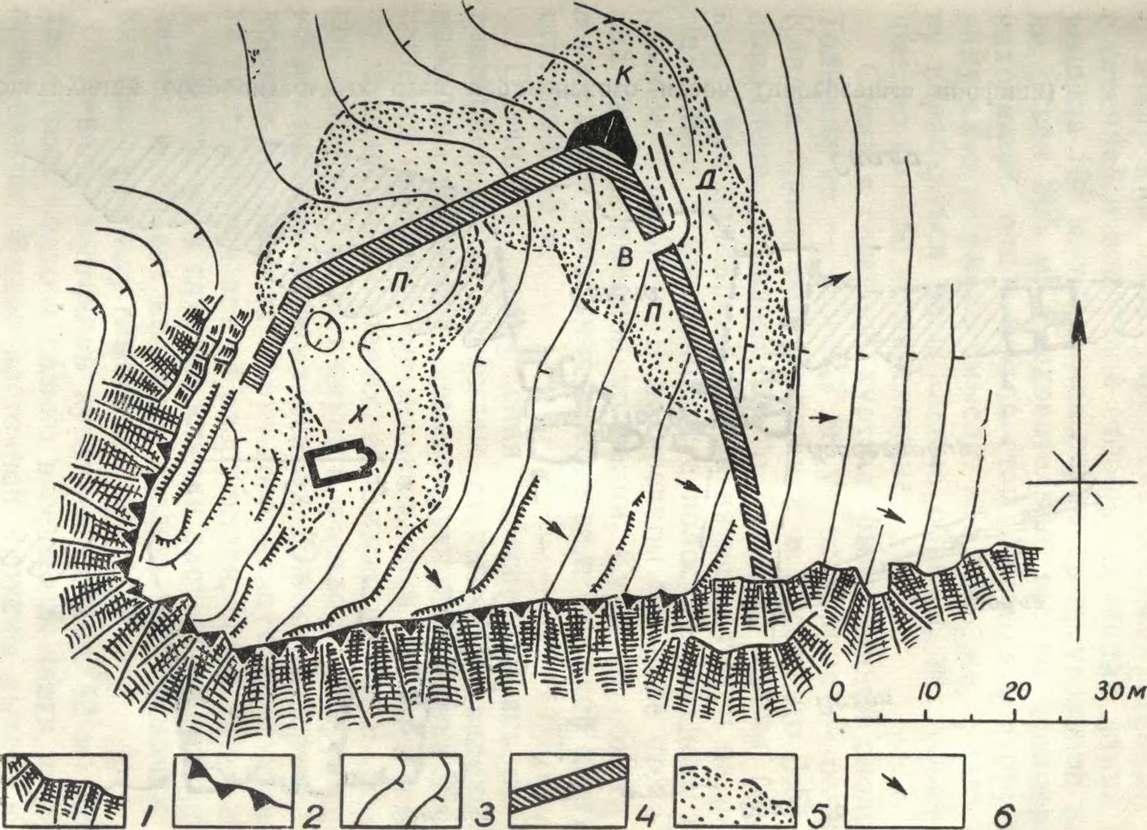 План мердвенского исара