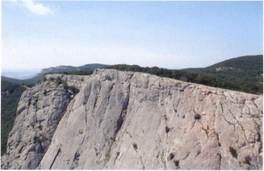 Вершина Куш-Кая. Фото Капитана Воронина