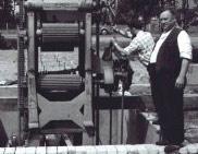 1985 – Die erste Blockbandsägeanlage