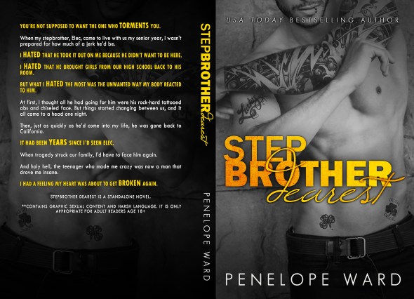 Stepbrother Dearest BookCover6x9_BW_250 (2)-2