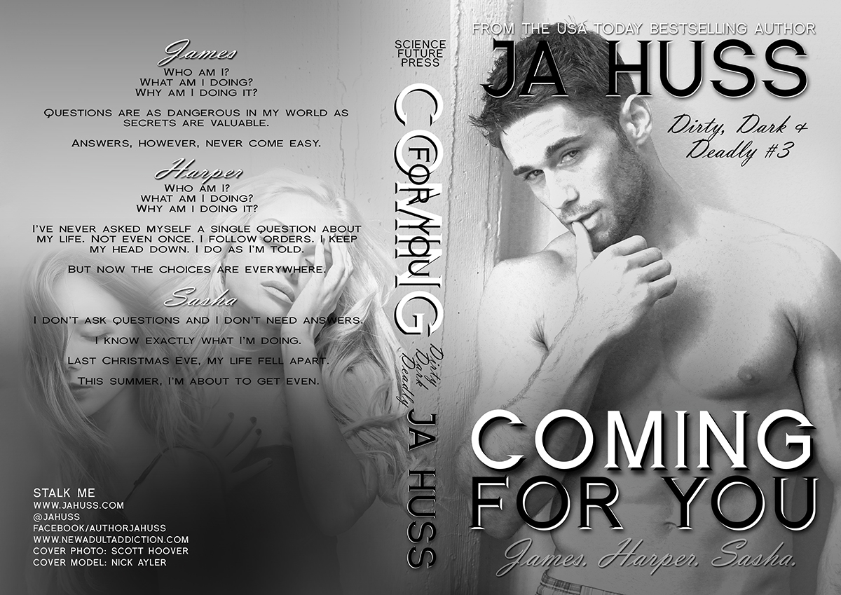 COVER REVEAL & GIVEAWAY: COMING FOR YOU by J.A. Huss