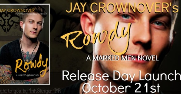 RELEASE BLITZ & GIVEAWAY: ROWDY by Jay Crownover