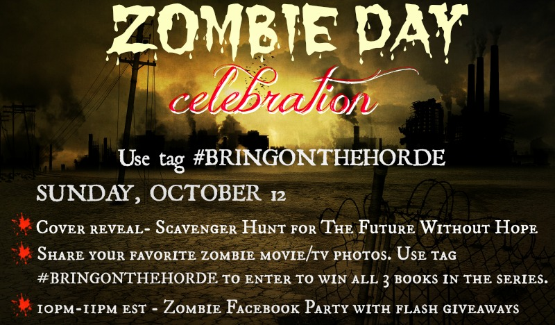 ZOMBIE DAY CELEBRATION with Nazarea Andrews