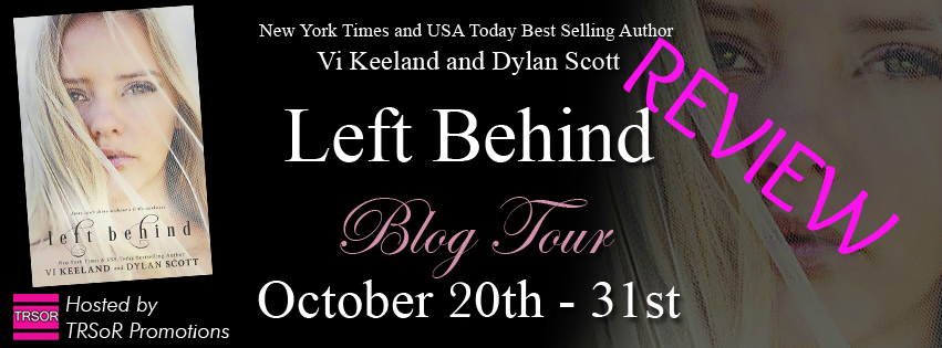 left behind blog tour REVIEW