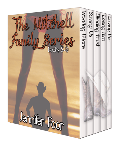 RELEASE BLITZ: The Mitchell Family Series Books 5-9 by Jennifer Foor