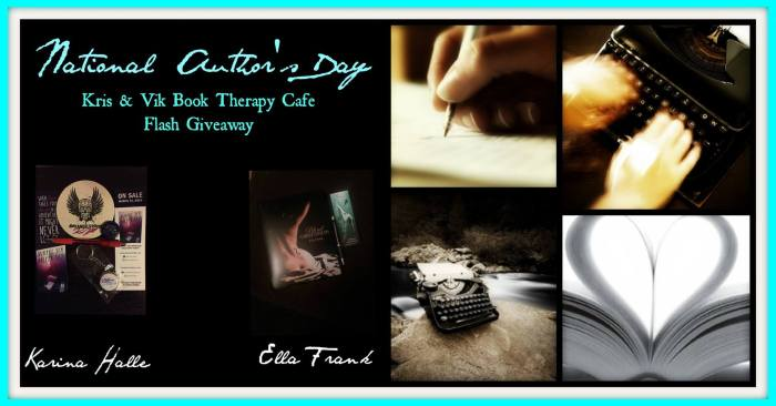 National Author's Day GIVEAWAYS