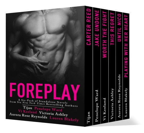 Foreplay Book Cover 3D