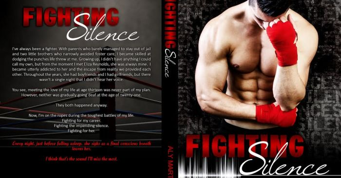 COVER REVEAL & EXCERPT: FIGHTING SILENCE by Aly Martinez