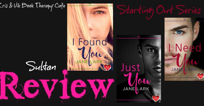 REVIEW: STARTING OUT SERIES by Jane Lark