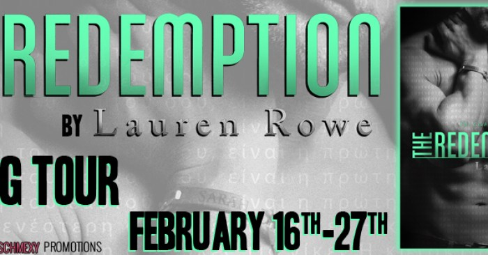 REVIEW & GIVEAWAY: THE REDEMPTION by Lauren Rowe