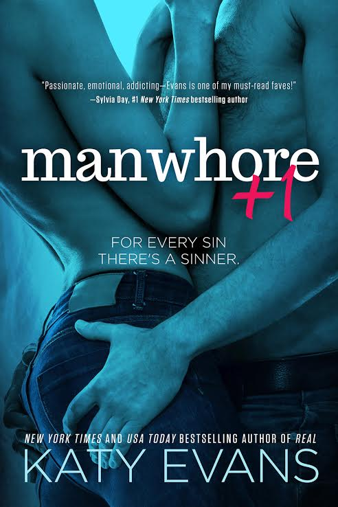 COVER REVEAL: MANWHORE +1 by Katy Evans