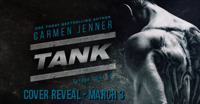 COVER REVEAL & GIVEAWAY: TANK by Carmen Jenner