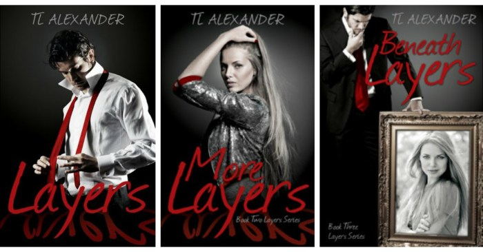 SERIES HIGHLIGHT GIVEAWAY & REVIEW: LAYERS SERIES by TL Alexander