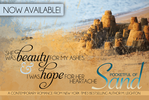 RELEASE BLITZ: POCKETFUL OF SAND by M. Leighton