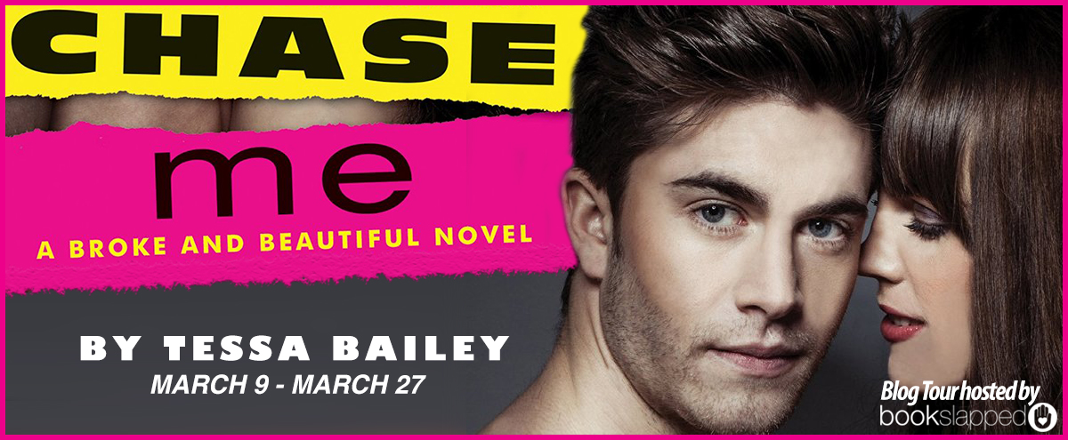 REVIEW & BLOG TOUR GIVEAWAY: CHASE ME by Tessa Bailey