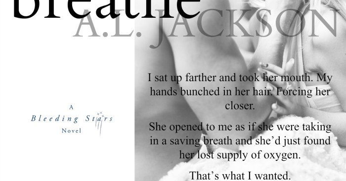 Cover Reveal & Giveaway: Drowning to Breathe by A.L. Jackson